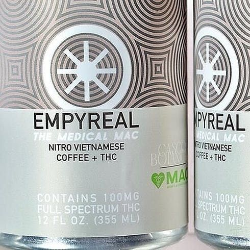feature image 100MG Nitro Vietnamese THC Infused Coffee