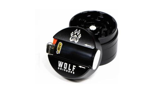 feature image 4 Pc Mini Wolf Grinder- Black