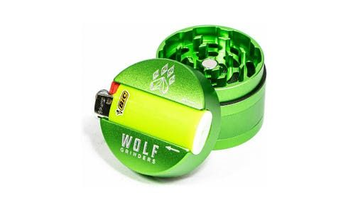 feature image 4 Pc Mini Wolf Grinder- Green