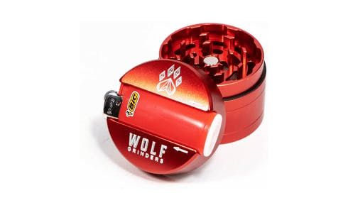 feature image 4 Pc Mini Wolf Grinder- Red