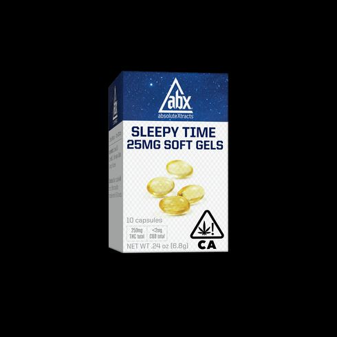 feature image AbsoluteXtracts | Sleepy Time Soft Gels - 25mg (10ct)