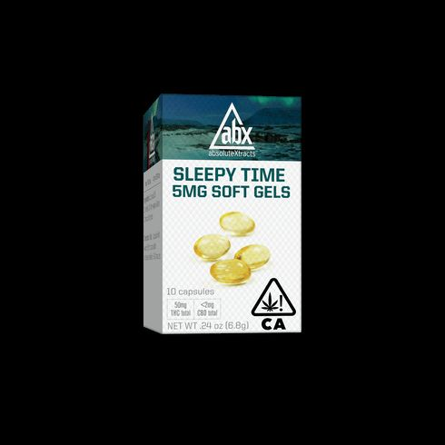 feature image AbsoluteXtracts | Sleepy Time Soft Gels - 5mg (10ct)