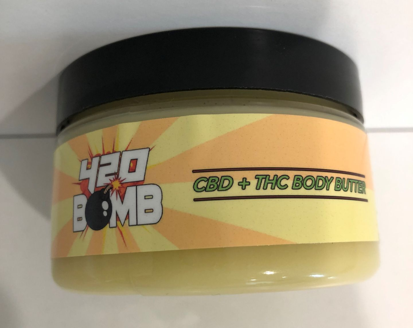 feature image 420 Bomb CBD+THC Body Butter