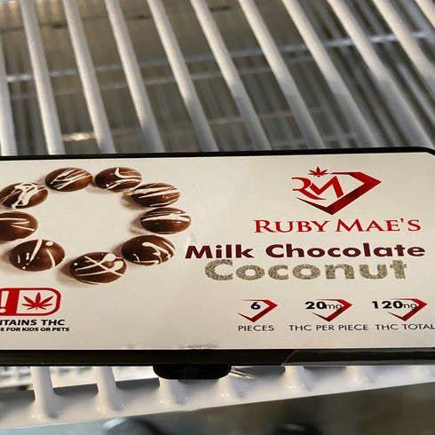 feature image 6pk 20mg Milk Chocolate Coconut