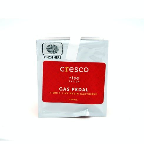 feature image .5 Gas Pedal - Live Resin Cartridge