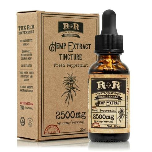 feature image 2500mg Hemp Extract Tincture