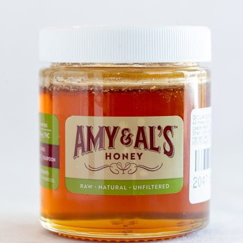 feature image Amy and Al's THC Infused Raw Honey 600mg