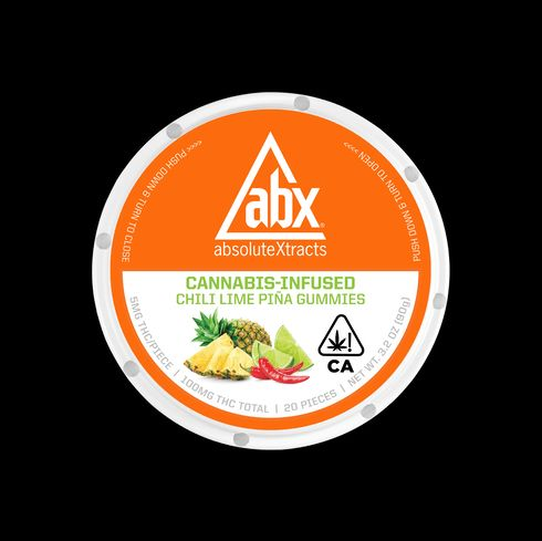 feature image ABX: 100mg Gummies (Chili Lime Pina)