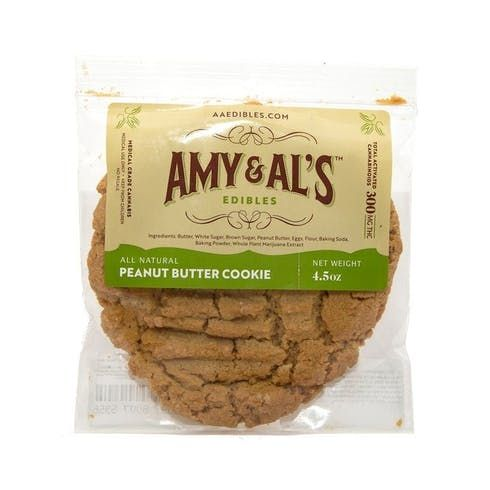 feature image Amy and Al's: Peanut Butter Cookie - 1 piece/100mg (Hybrid)