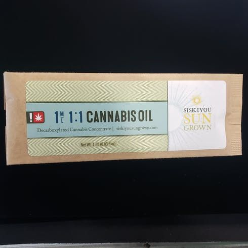 feature image 1:1 Cannabis Oil