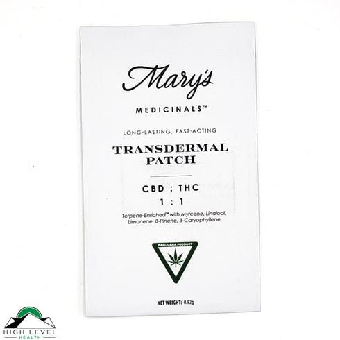 feature image 1:1 CBD/THC Transdermal Patch - Medical ONLY