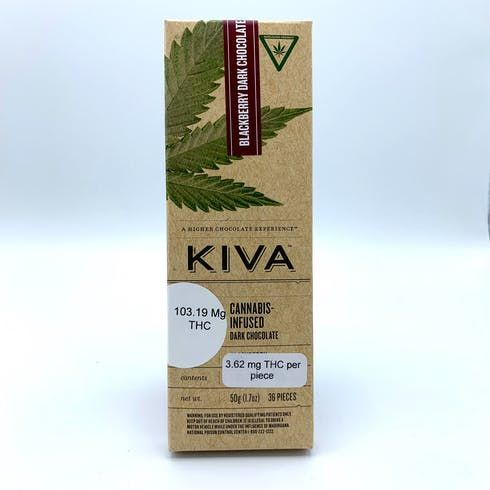 feature image Blackberry Dark Chocolate Bar - Medical ONLY