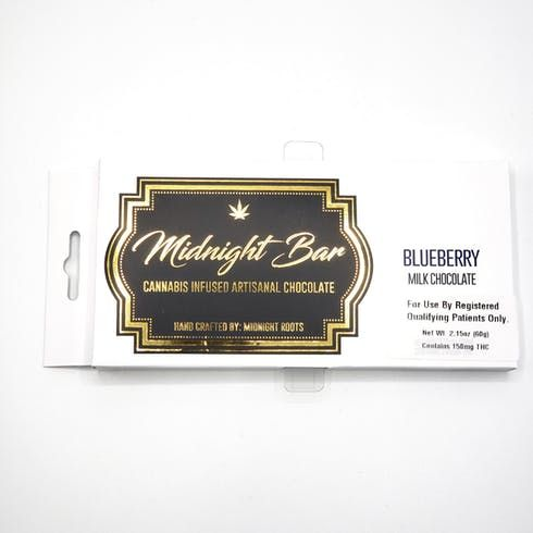 feature image Blueberry Chocolate Bar - Medical ONLY