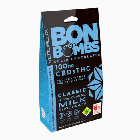 feature image 100/100 Classic CBD/THC Bon Bombs Verdelux