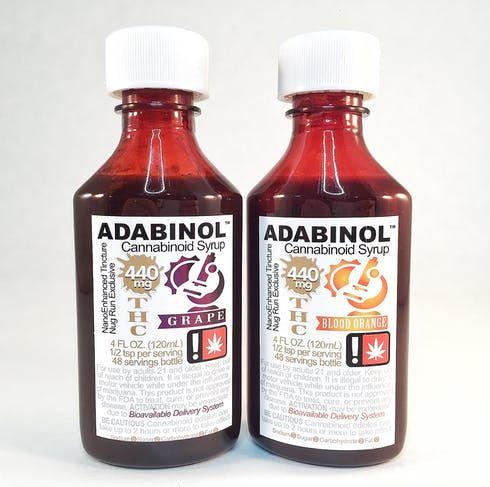 feature image ADABINOL - Live Resin Syrup (Blood Orange)