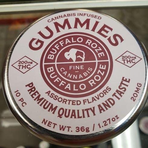 feature image Buffalo Roze 200mg Gummies