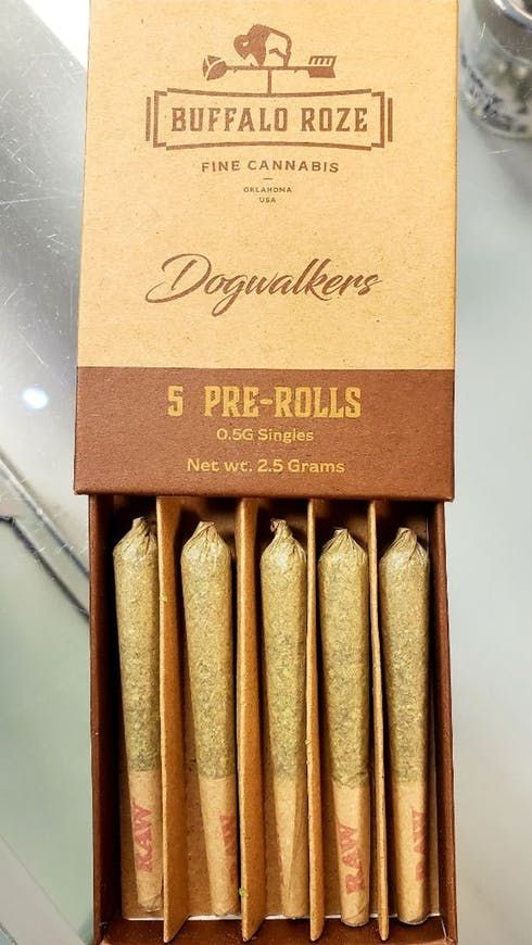 feature image Buffalo Roze Indica Preroll (0.5g*5-pack)