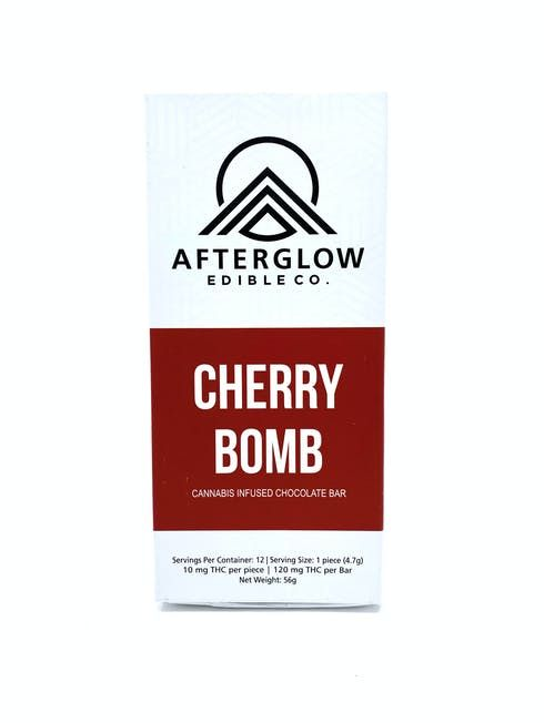 feature image AfterGlow - Chocolate Cherry Bomb