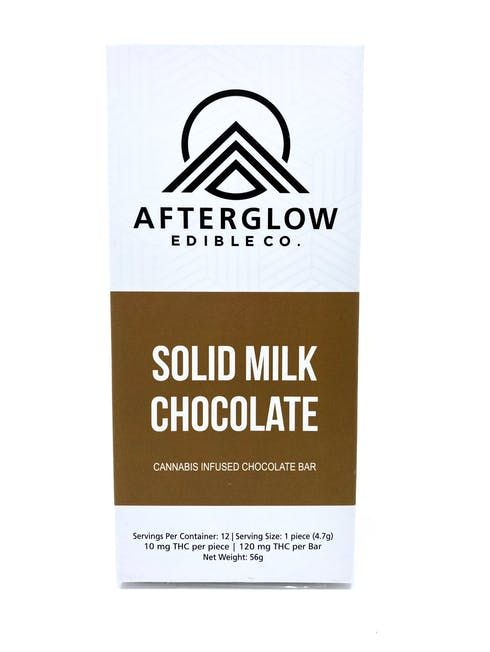 feature image AfterGlow - Solid Milk Chocolate