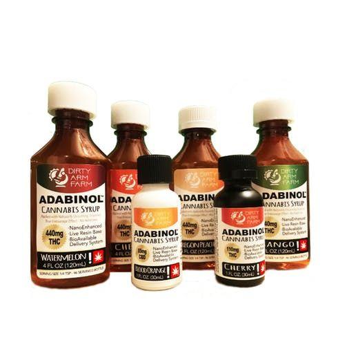 feature image Adabinol Syrup 1oz Strawberry (110*mg)