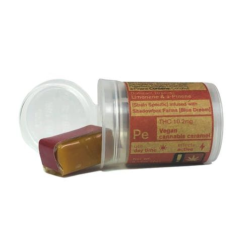 feature image 10mg Active Vegan Caramel