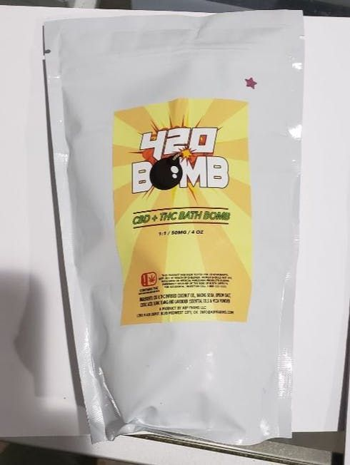 feature image 420 Bath Bomb