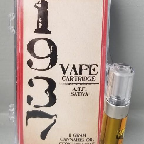 feature image 1937 ATF 1g Cartridge