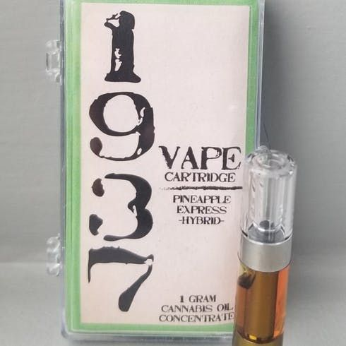 feature image 1937 Pineapple Express 1g Cartridge