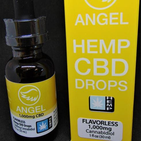 feature image Angel Hemp 6000mg Tincture Flavorless