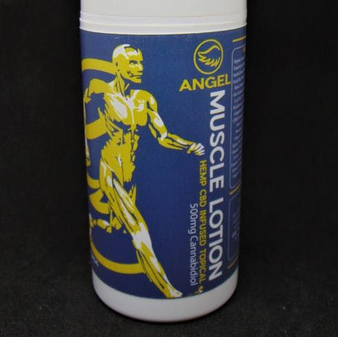 feature image Angel Muscle Lotion 2000mg Hemp