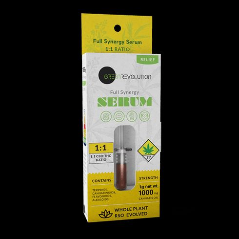 feature image 1:1 Relief Full Synergy Serum (Green Revolution)