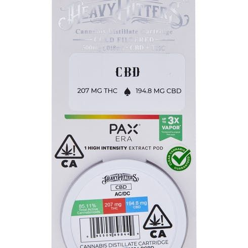 feature image AC DC - 0.5g Pod - Heavy Hitters