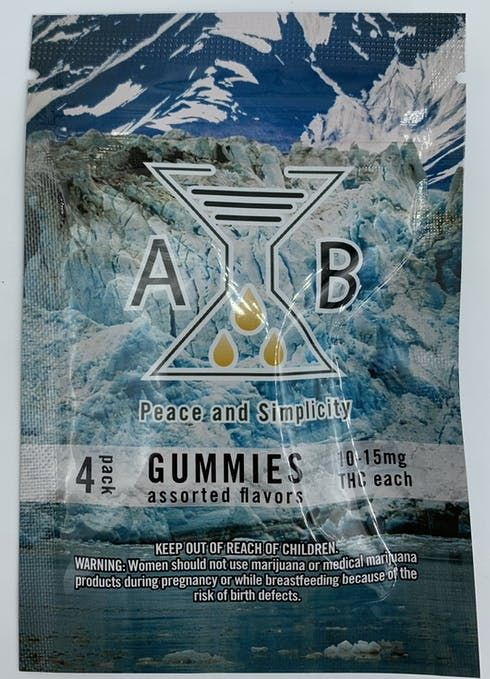 feature image 4pk Gummies (10-15mg ea) made by Arcadia brands