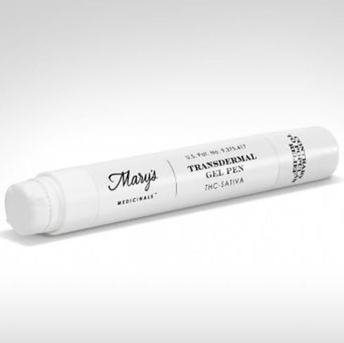 feature image  Trasndermal Gel Pen - 200mg Sativa