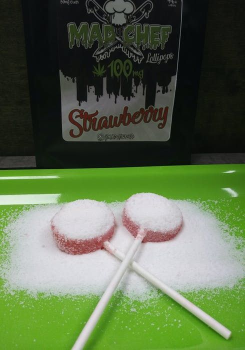 feature image 2pk Lollipops 100mg - Mad Chef