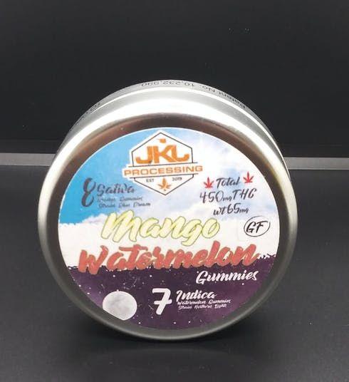 feature image 8 Sativa 7 Indica Gummie Bundle 450mg- JKJ Processing