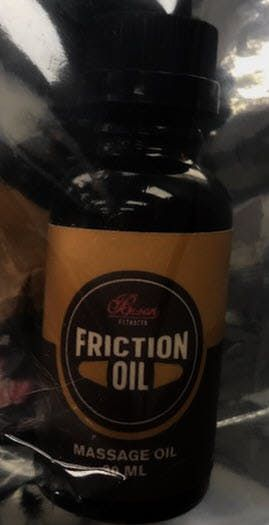 feature image Bison Extracts Friction Oil - 500mg