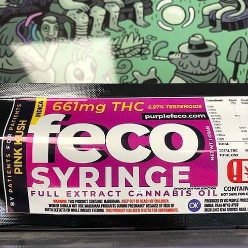 feature image FECO Syringe 1 gram - Strain Specific