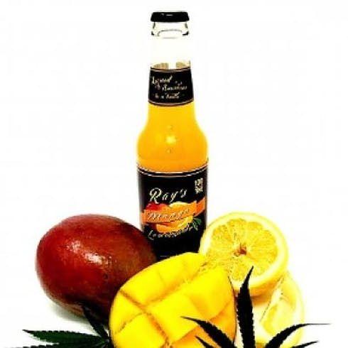 feature image 100mg THC Mango Lemonade by Ray's Lemonade