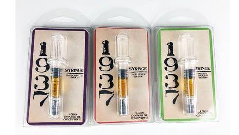 feature image 1937 Distillate Syringe