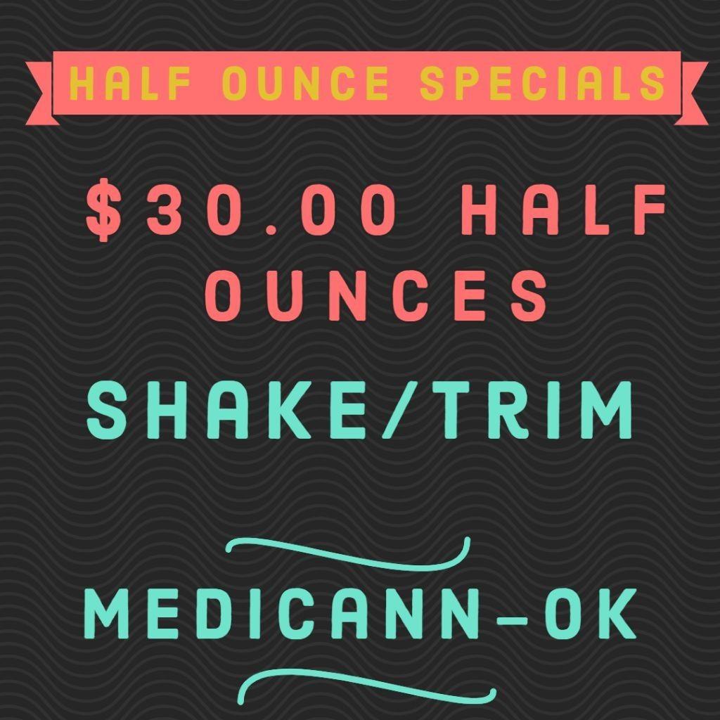 feature image $30.00 Half Ounces