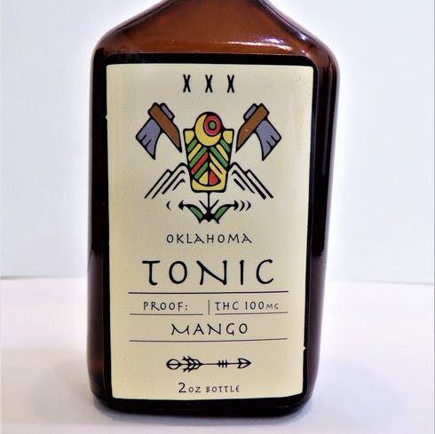 feature image 100 mg Tonic - Mango