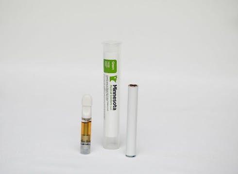 feature image Green Distillate Prefilled Vaporization Cartridge - 1000 mg