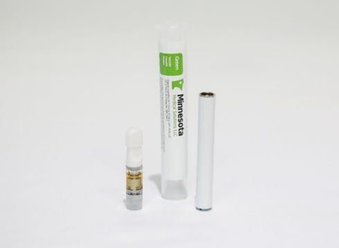 feature image Green Distillate Prefilled Vaporization Cartridge - 500 mg