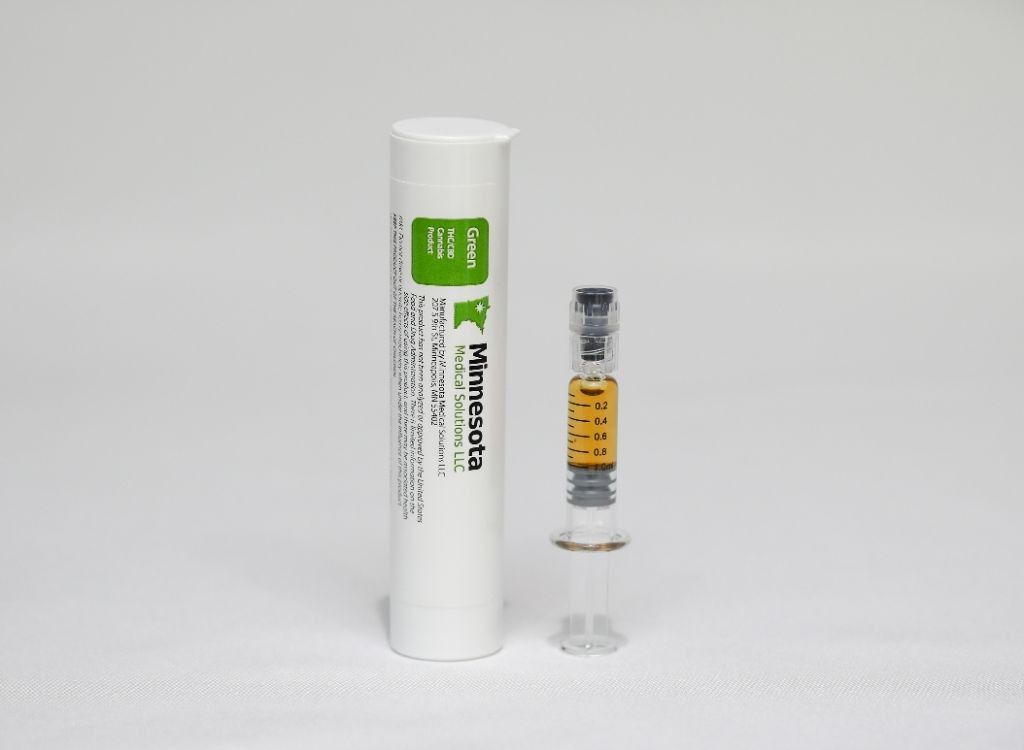 feature image Green Distillate Bulk Oil for Vaporization - 1 gram Syringe
