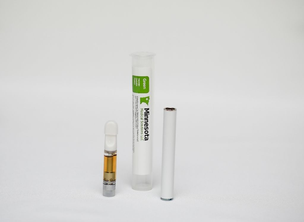 feature image Green Distillate Prefilled Vaporization Cartridge - 1000 mg