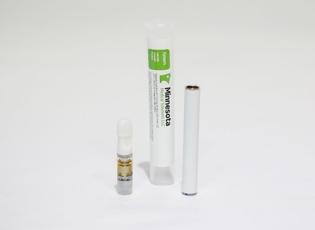 feature image Green Distillate Prefilled Vaporization Cartridge - 500 mg