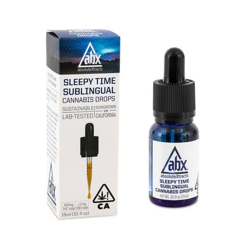 feature image Absolute Extracts: Sleepy Time Drops 400mg 15mL