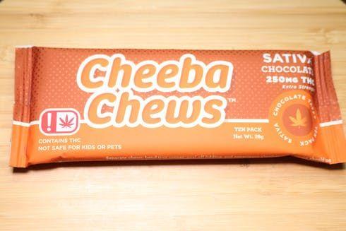 feature image 250mg Sativa Chocolate Taffy - Cheeba Chews