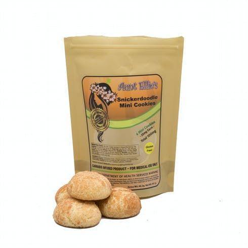 feature image Aunt Ellie's - Snickerdoodle Mini Cookies 100mg
